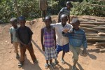 Kigeme camp children